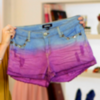 How to Dip-Dye Shorts