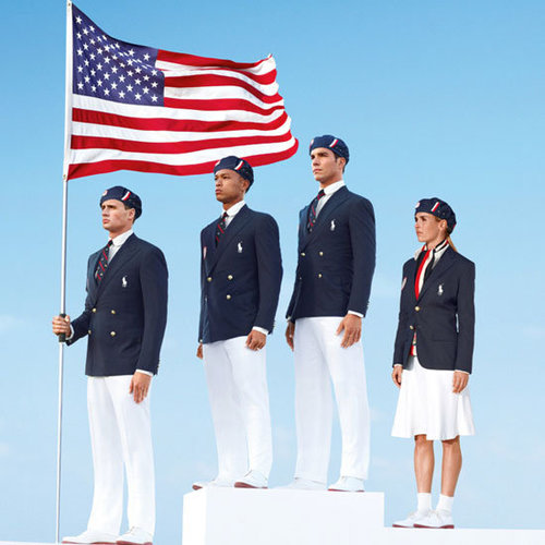 Ralph Lauren Olympic Uniforms Pictures 2012