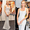 Diane Kruger in Long Silver Dress
