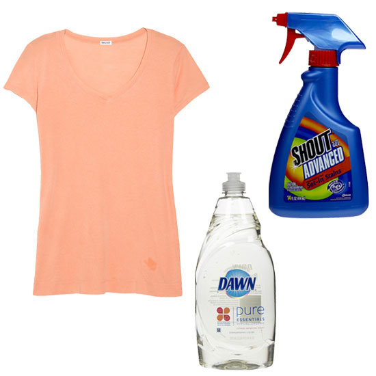 How to get rid of oil stains on clothes popsugar fashion - Coffee stains oil stains get rid easily ...