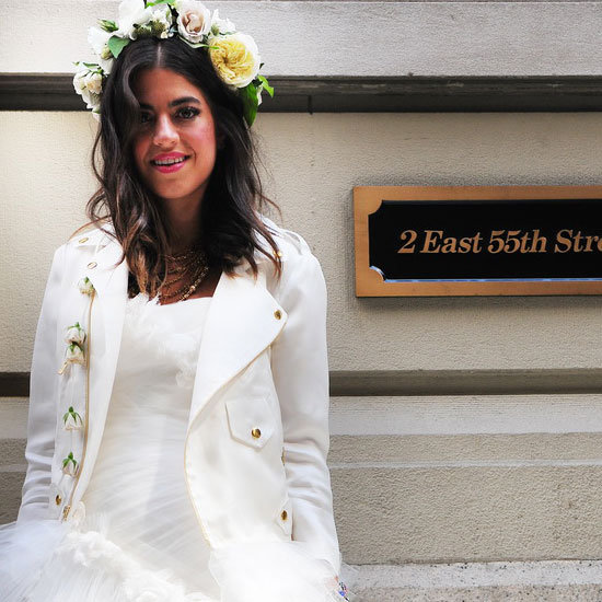 "Get Up Close With The Man Repeller's ""Fat Ass"" Marchesa Wedding Dress"
