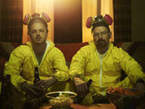 Bryan Cranston and Aaron Paul on Breaking Bad. Photo courtesy of AMC