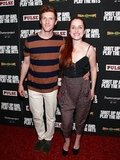 Zoe Lister Jones had a big smile at the Shut Up & Play the Hits screening in NYC.