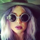Kelly Osbourne matched her sunglasses to her hair. Source: Instagram user kellyosbourne