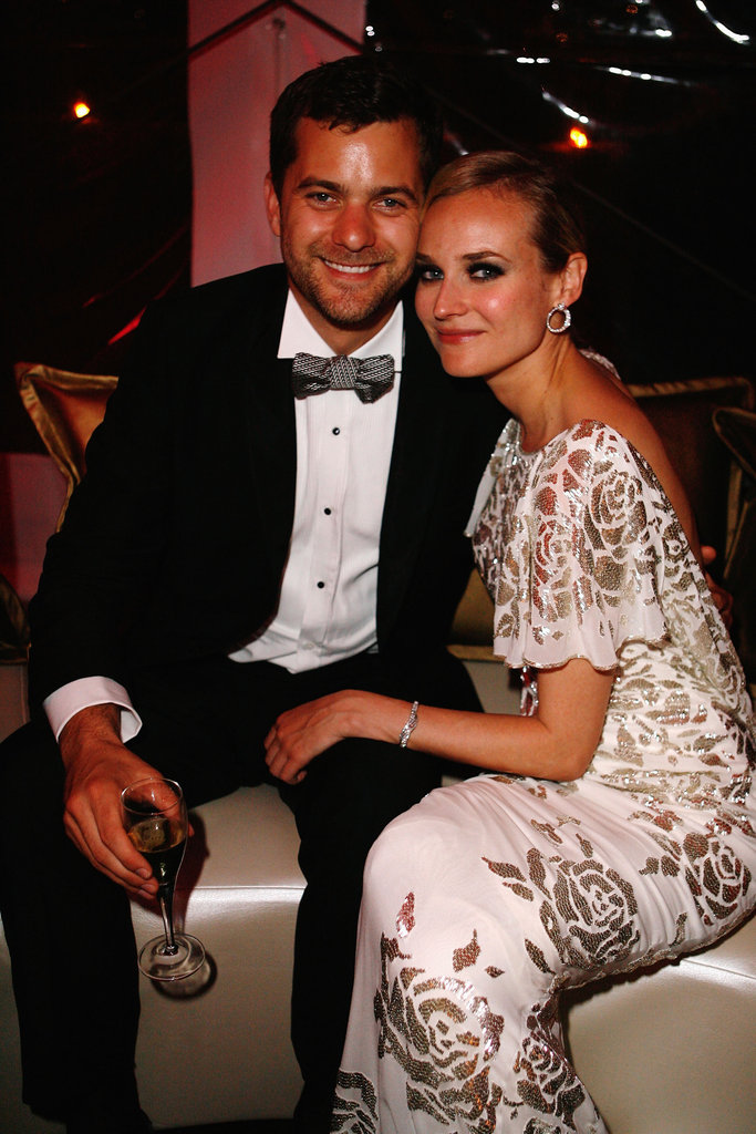 Diane Kruger and Joshua Jackson made a picture-perfect couple at the Cannes Inglourious Basterds afterparty in May 2009.