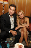 A young Joshua Jackson and Diane Kruger coupled up at an NYC party in October 2006.