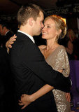 Joshua Jackson and Diane Kruger shared an embrace at the Screen Actors Guild Awards afterparty in January 2007 while in LA.