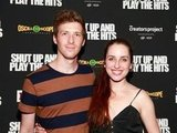 Zoe Lister Jones posed with Daryl Wein at the Shut Up & Play the Hits screening in NYC.