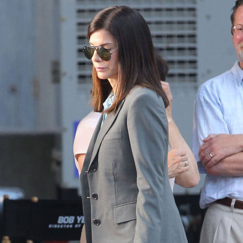 Sandra Bullock and Melissa McCarthy Film The Heat Pictures