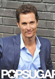 Matthew McConaughey made a stop by ITV Studios in London.