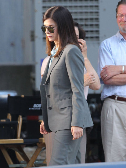 Sandra Bullock worked on The Heat.