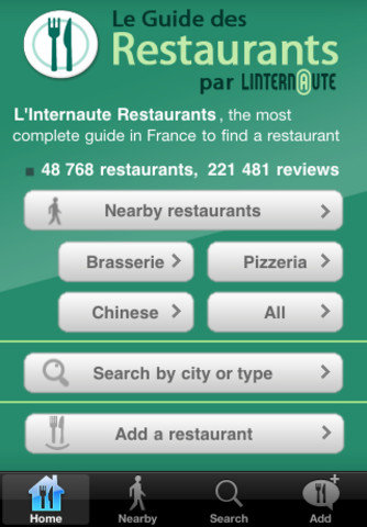 L&#039;Internaute French Resturant Guide (Free)