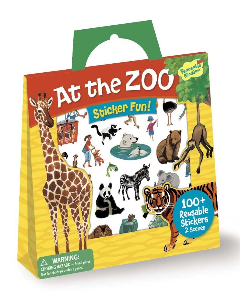 Peaceable Kingdom's Sticker Totes ($13)