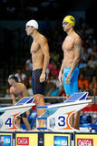 Nathan Adrian and Anthony Ervin