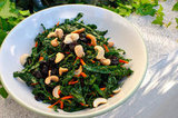 Kale Salad With Dried Cherries and Cashews