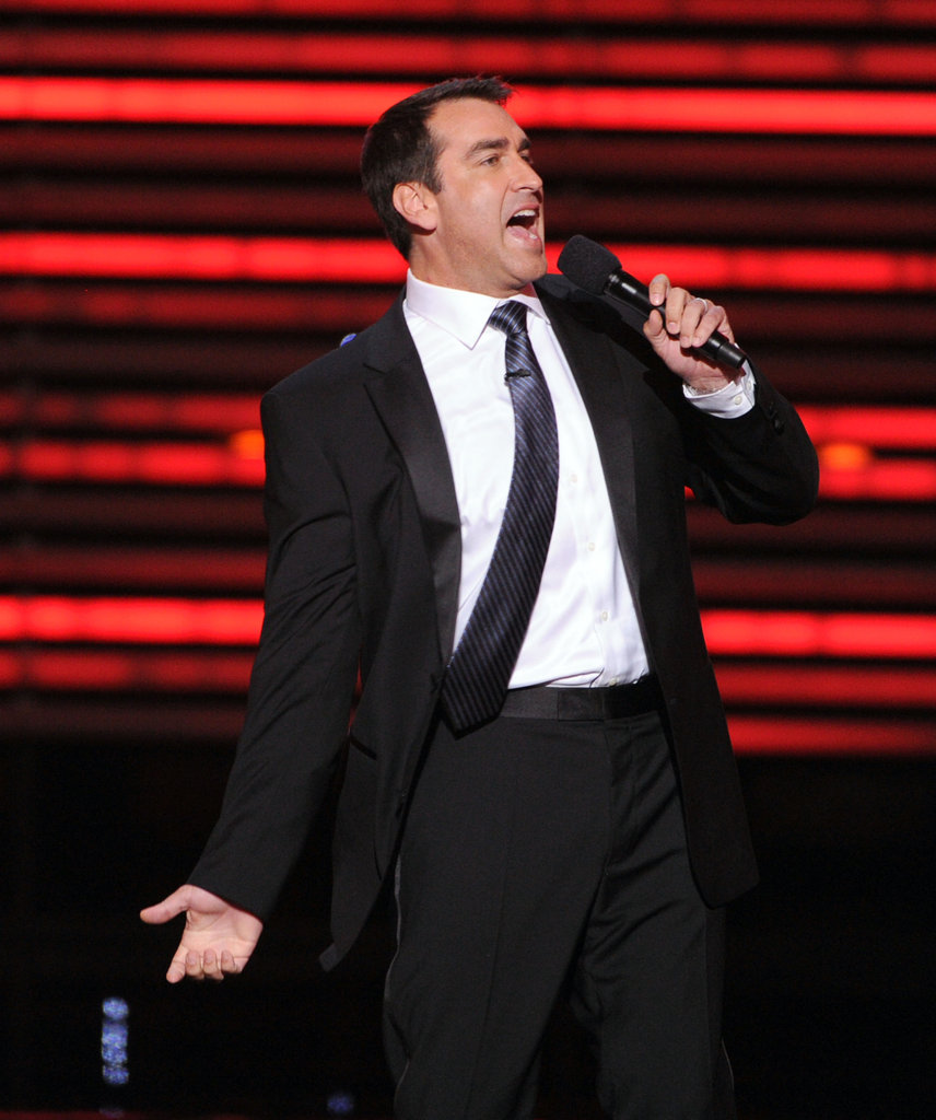 Rob Riggle hosted the Espy Awards at the Nokia Theatre in Los Angeles, CA.