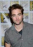 Robert Pattinson smirked.
