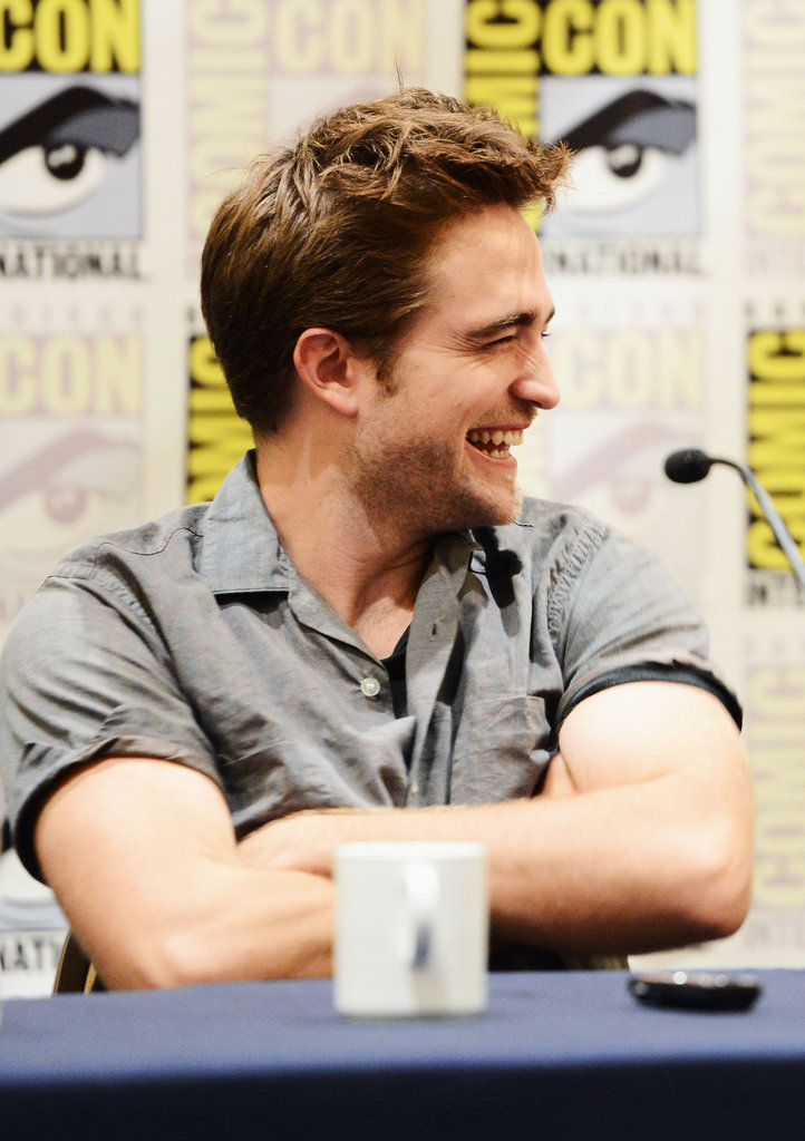 Robert Pattinson and Kristen Stewart Chat Twilight at Comic-Con