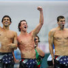 Hot Olympic Male Swimmers