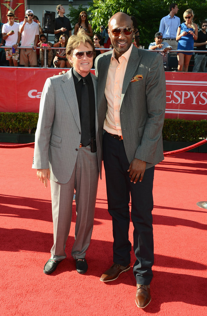 Bruce Jenner and Lamar Odom