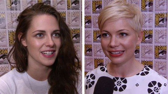Video: Breaking Dawn Sex, Michelle's Dawson's Creek Reunion, and More Comic-Con Day One Highlights