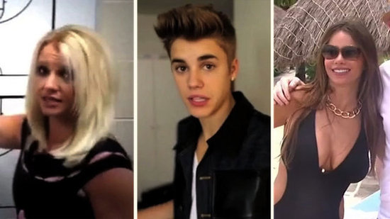 Video: Britney Dances to Vanilla Ice, Bieber Fever in Japan, and More Celebrity Viral Videos