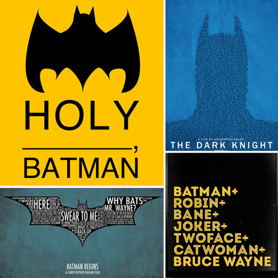Decorate Your Bat Cave With These Dark Knight Prints
