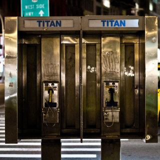 NYC Pay Phones as Free WiFi Hotspots