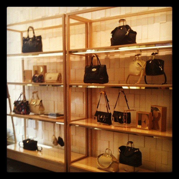 More eye candy at Mulberry's SF store opening.