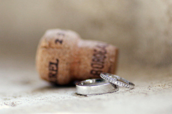Champagne Cork Photo by Exhibit Emotions Photography via Style Me Pretty