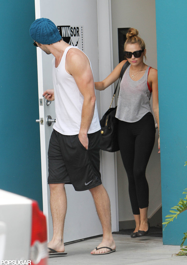 Engaged duo Miley Cyrus and Liam Hemsworth.