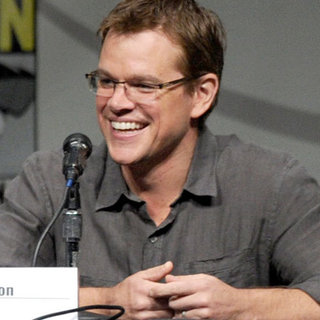 Matt Damon Comic-Con Pictures 2012