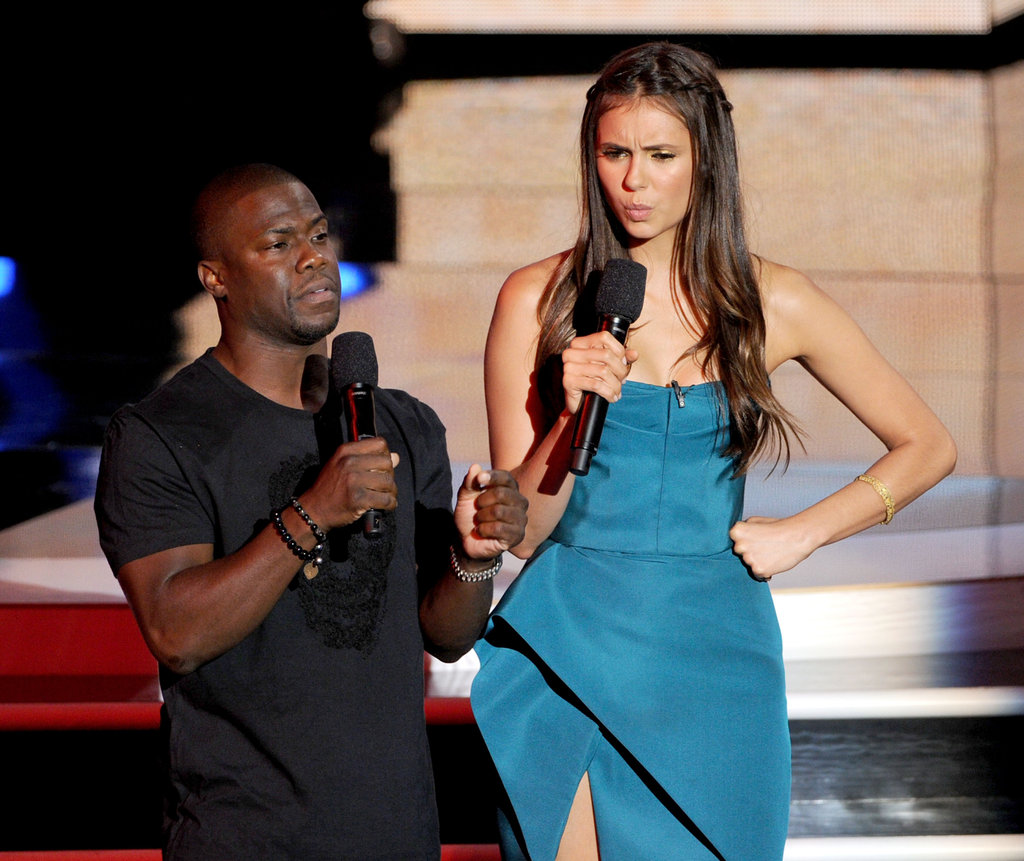 Kevin Hart and Nina Dobrev