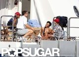 Bikini-Clad Rihanna Lets Loose on a Luxury Cruise