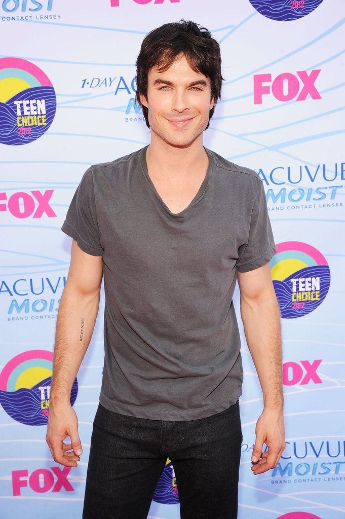 Ian Somerhalder posed at the TCAs.