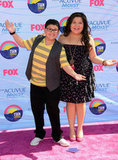 Rico Rodriguez at the Teen Choice Awards.