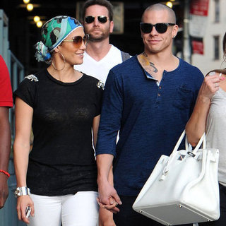Jennifer Lopez and Casper Smart at Pastis | Pictures