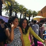 Tia Mowry and Tamera Mowry posed together. Source: Instagram user teenchoicegirl