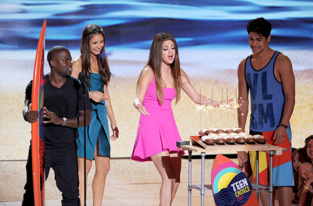 Robert, Kristen, and Selena's Birthday: Teen Choice Awards Highlights!