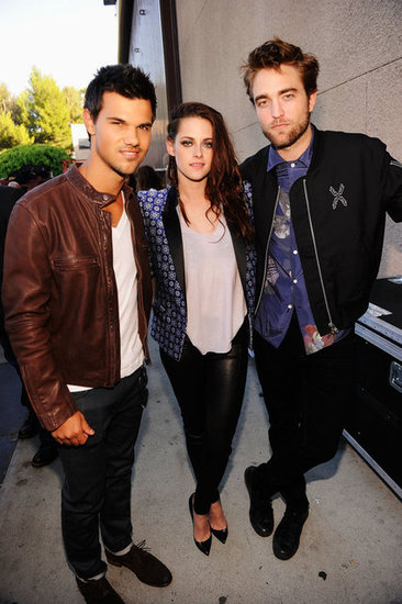 Robert Pattinson and Kristen Stewart at Teen Choice Awards