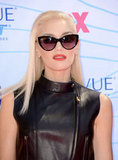 A zoomed-in glance at Gwen Stefani's glamorous lens.