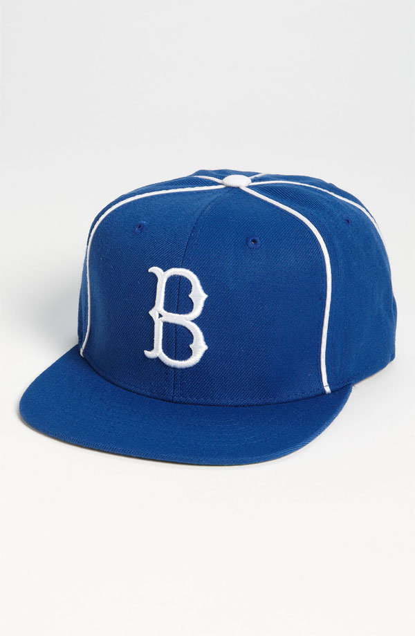 Go old school with this vintage-inspired Brooklyn Dodgers cap — pair it with a white tee and jeans and get ready for a baseball history lesson from guys on the street. American Needle Brooklyn Dodgers Timekeeper Baseball Cap ($32)