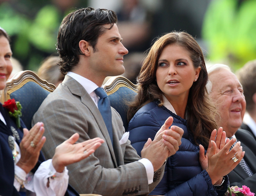 Princess Madeleine of Sweden and Prince Carl Philip attended their sister's birthday celebrations on Saturday.