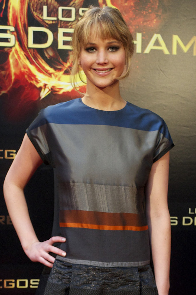 Jennifer Lawrence as Katniss Everdeen