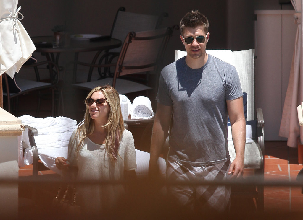 Ashley Tisdale went to Santa Barbara with Scott Speer.