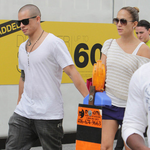 Jennifer Lopez and Casper Smart PDA | Pictures