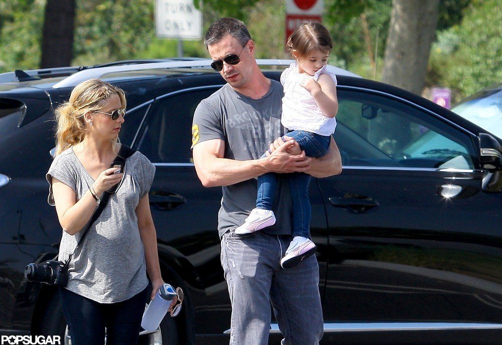 Sarah Michelle Gellar and Freddie Prinze Jr. took Charlotte to the LA Zoo.
