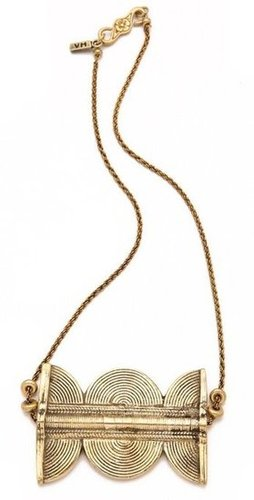 Say hello to a seriously easy statement piece.  Vaness Mooney The Riot Necklace ($75)