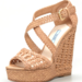 This wedge is comfortable enough to go double duty, from shows to dinner afterward.