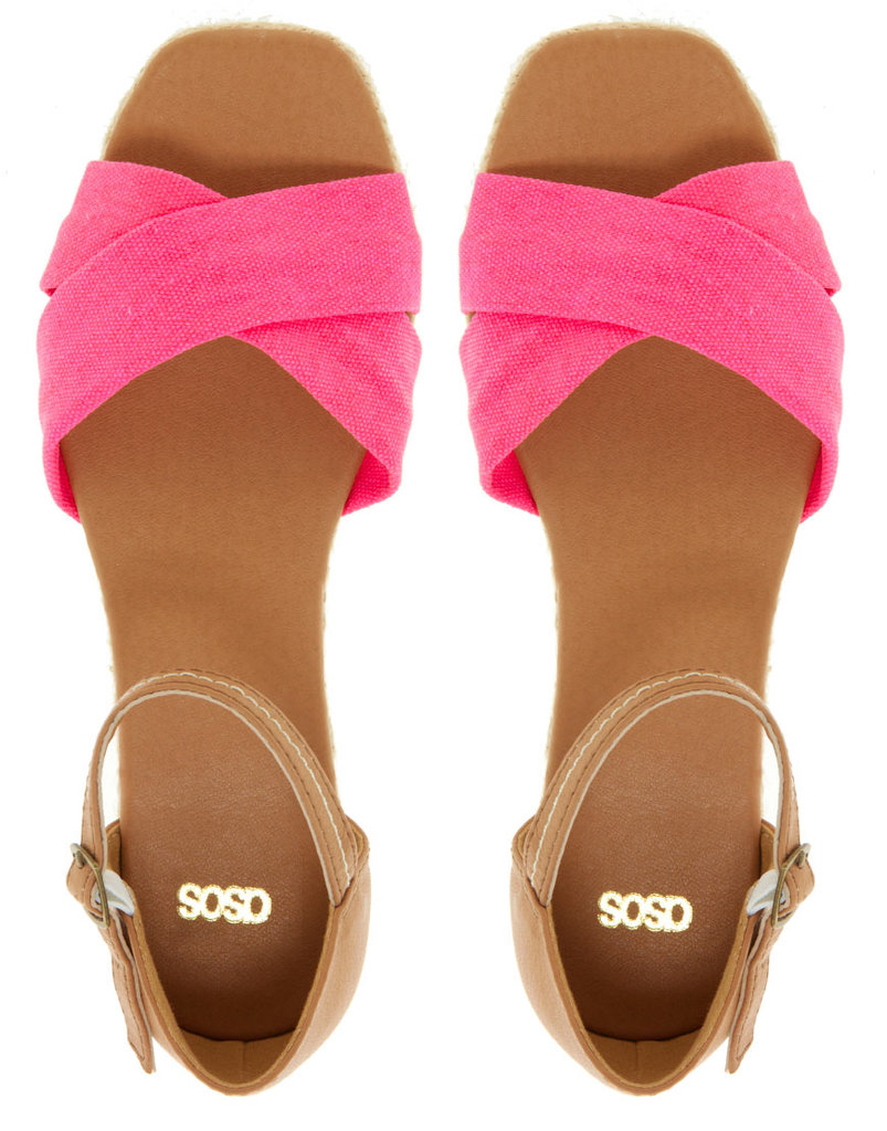 Put some pep in your step with this pink-hued pair of sandals.  ASOS Ferry Flat Sandals ($33)